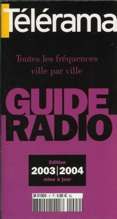 Guide T�l�rama radio